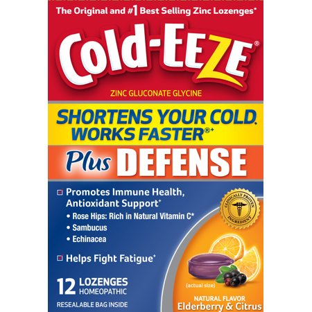 COLD-EEZE + DEFENSE LOZ CIT ELDRBRY 12CT By Prophase Labs, Inc