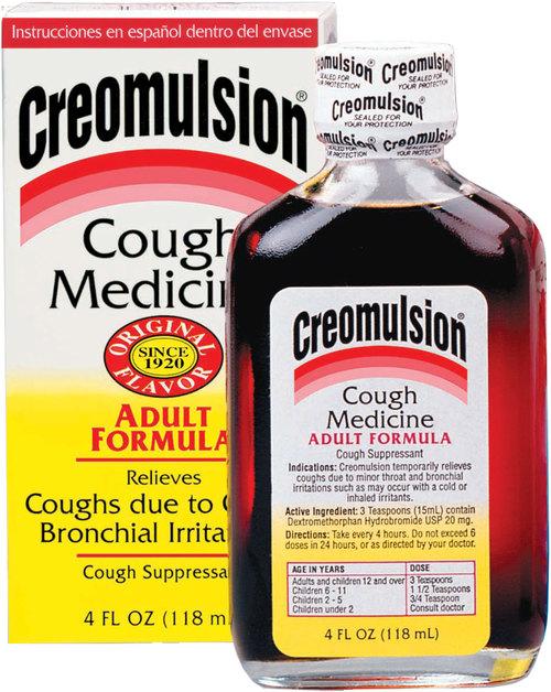 Creomulsion Adult Cough Syr Formula 4 oz By Socius Care LLC