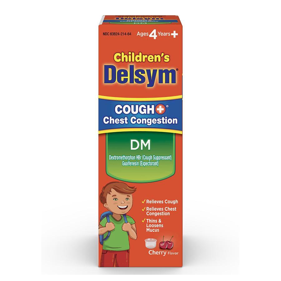 Delsym Child Cough+DM Congest Liquid 4 oz By Reckitt Benckiser