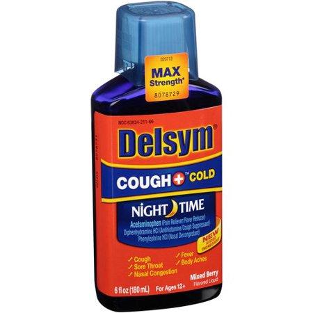 Delsym Cough+ Nite Cough/Cold 6 oz By Reckitt Benckiser