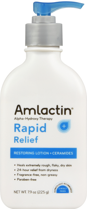 Item No.:OTC0781-7128-79/D Amlactin Rapid Relief Restoringlotion + Ceramides 7.9 Oz One Case Of 12 Category: OTC: Skin Care : Amlactin UPC Package Code: 3-07817-12879-9  307817-128799  307817128799 UP