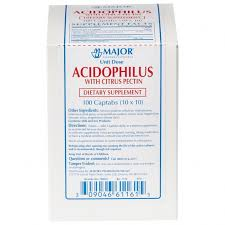 ONE CASE OF 12 Rugby Natural Acidophilus Captabs With Citrus Pectin - 100 Each Brand Acidophilus captab L. acidophilus/pectin, citrus ORAL TABLET 25MM-100MG UNIT DOSE PACKAGE  Item No.: OTC610117 6101