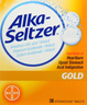 '.ALKA SELTZER TABLET GOLD 36CT BY BAYER.'