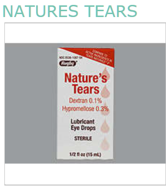 Nature's Tears Drops Lubricant 15 ml By Major Pharma