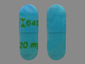Rx Item-Esomeprazole 40mg Caps 30 By Teva Pharma Gen Nexium