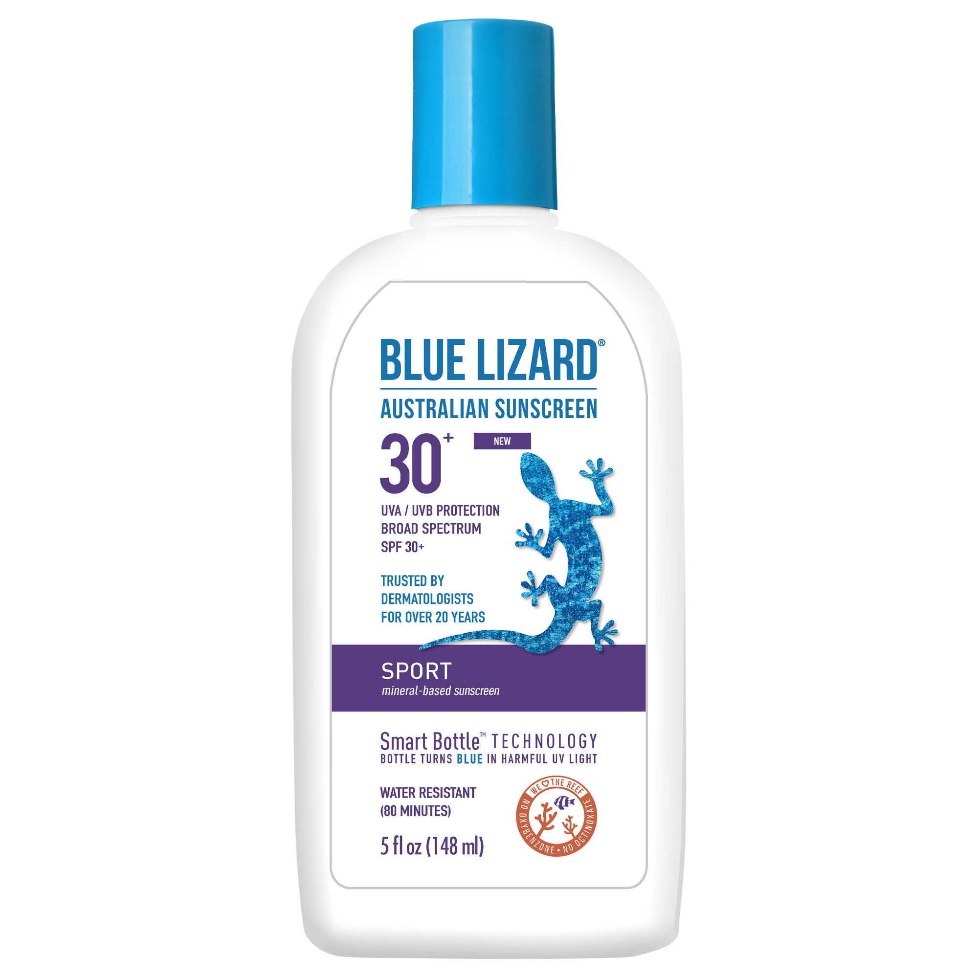 BLUE LIZARD AUSTRLN SPORT SS SPF30 5OZ By Crown Laboratories