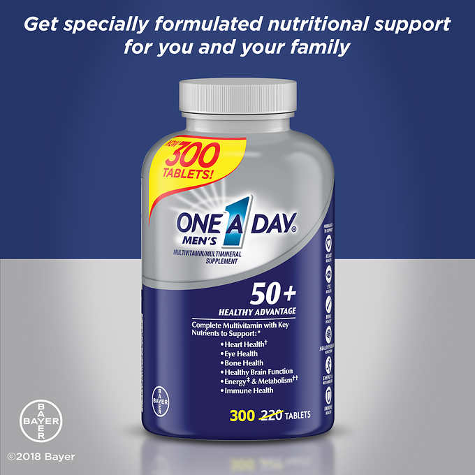 '.One-A-Day Men's Multivitamin,M.'