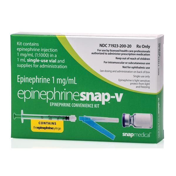Rx Item-Epinephrine Snap-V Kit By Focus Health