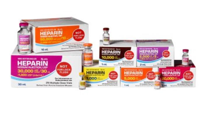 Rx Item-Heparin 1000/ml Vial 25X1ml By Mckesson Pharma