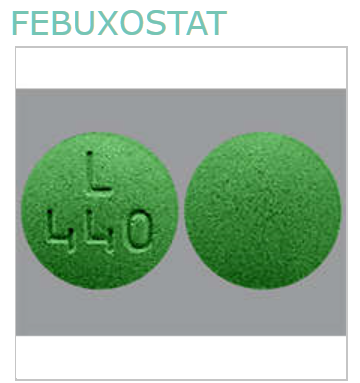 FEBUXOSTAT 40Mg Tab 30 By Alembic Pharma Generic Uloric