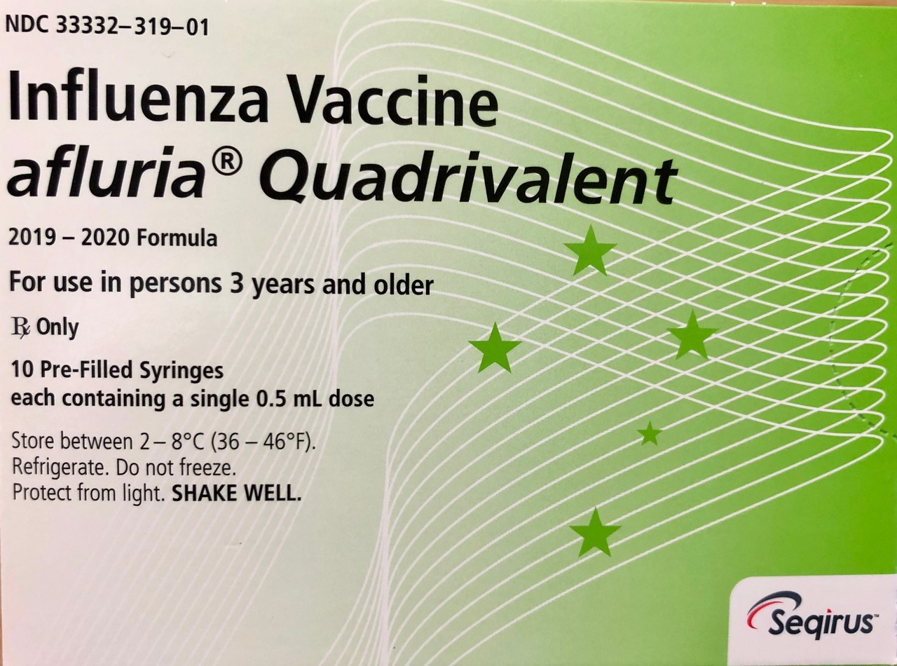 RX ITEM-AFLURIA PRE-FILLED SYRINGES QUADRIVALENT FLU VACCINE 19-20 BY SEQUIRIS