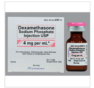 RX ITEM-Dexamethasone 4Mg/Ml  Vial 25X1Ml By Auromedics Pharma
