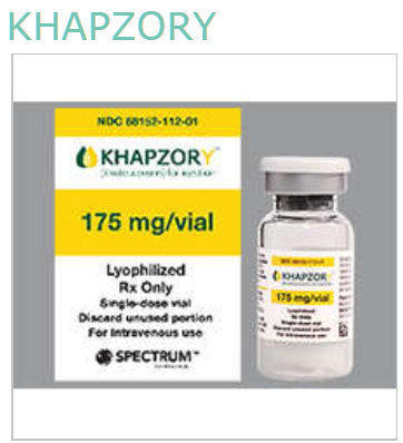 RX ITEM-Khapzory 175mg Levoleucovorin 1 By Ics Spectrum Pharma