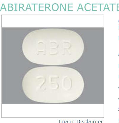 Abiraterone Acetate Generic Zytiga 250mg Tab 120 By Novadoz Pharma.  NDC No.72205-0030-92 72205-030-92 7220503092 72205003092 UPC/GTIN No.3-72205-03092-3 372205-030923 372205030923  MPN No. 3092