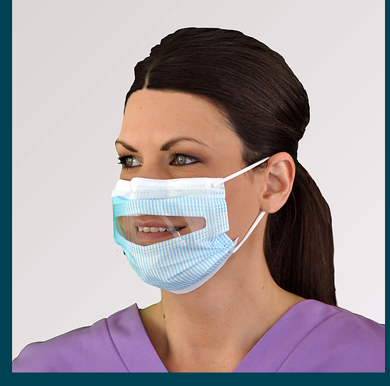PROGEAR® CLEAR-VIEW MASK™ FM86010 Each Box has 25 1 Box