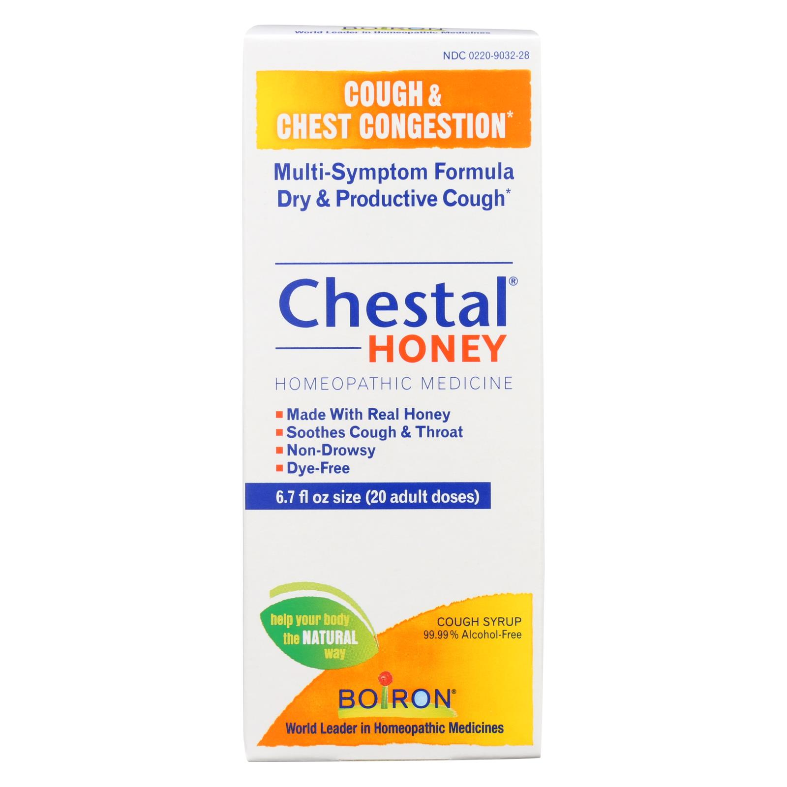 Chestal Cough and Chest congestion Honey 6.7 oz