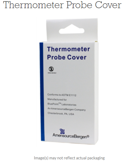 Thermometer Probe Cover only  Box of 50 By Amerisourcebergen