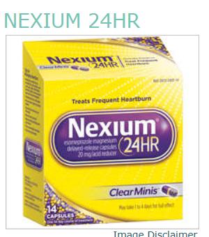 Nexium 24HR OTC 20MG MINI CAPSULE 14CT by Pfizer