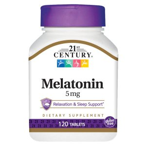 Melatonin 5 mg 120 TAB By 21st Century OTC