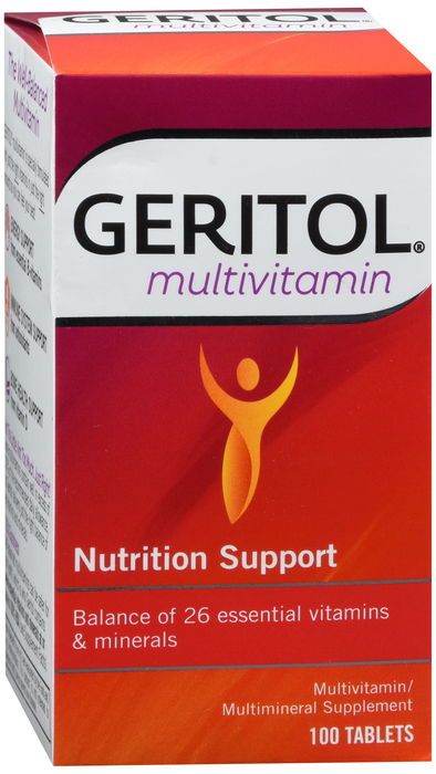 Geritol Tablet 100Ct Case of 12