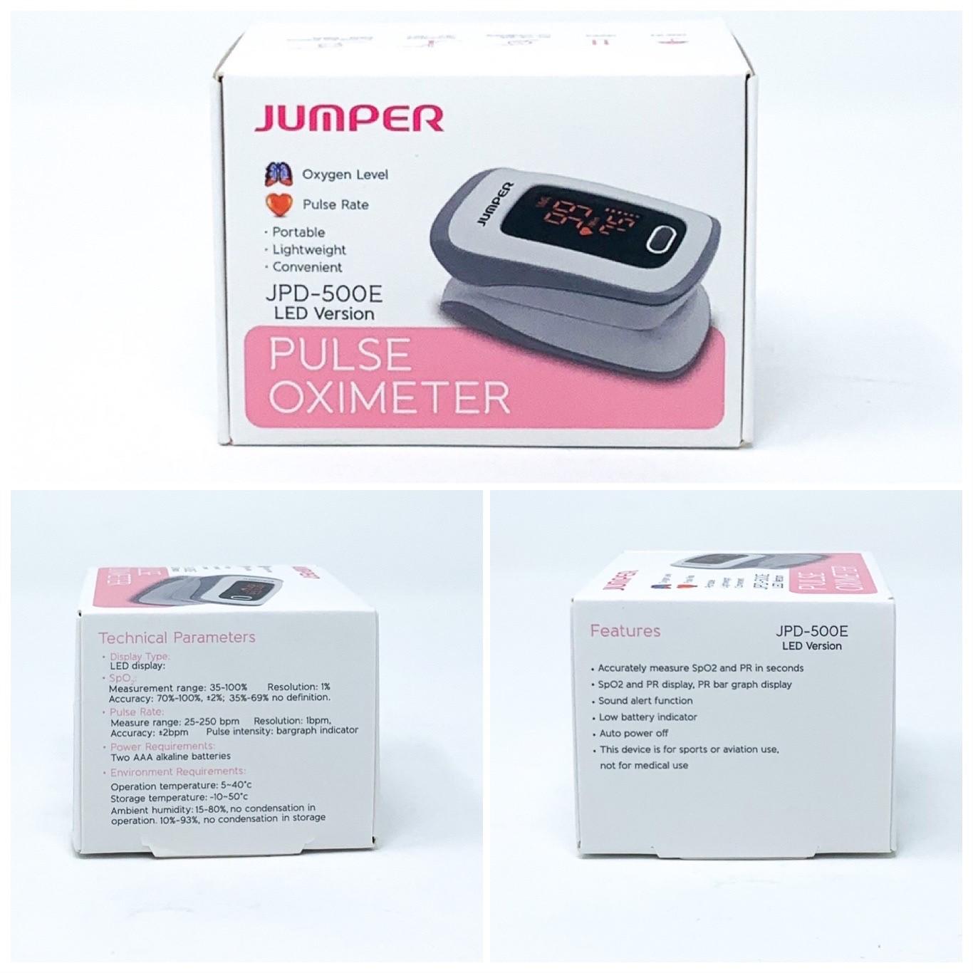Oximeter Adult/ Adolescent Fingertip Sensor, Includes: Hanging Rope, Storage Bag
