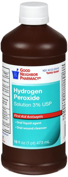 GNP HYDROGEN PEROXID 3% TOP SOL USP 12X16OZ