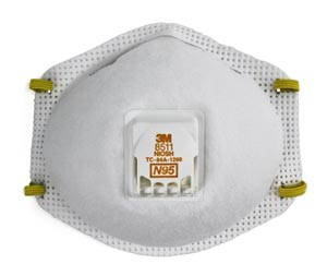 3M Particulate Respirator  8511 By 3M Health Care Box of 10