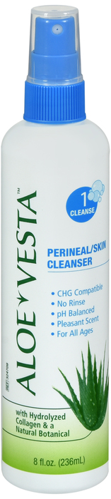 ALOE VESTA 2IN1 CLEANSER SOLUTION 8 OZ
