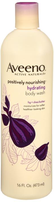 Aveeno Postively Nourishing Body Wash Hydrating 16Oz J&J Consumer