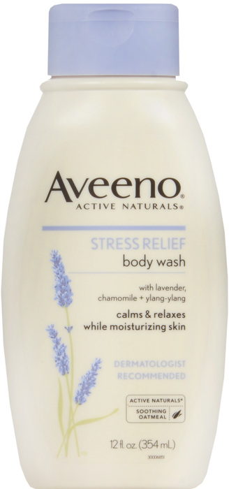 Aveeno Body Wash Stress Relief 12Oz By J&J Consumer