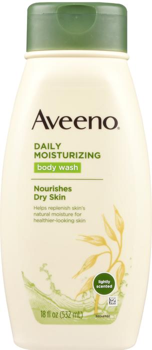 Aveeno Daily Moisturizing Body Wash 18Oz By J&J Consumer