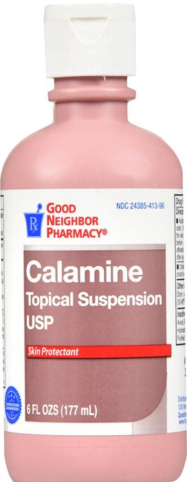 GNP Calamine Plain Liq 6 Oz Case of 12 By Humco Holding Grp GNP