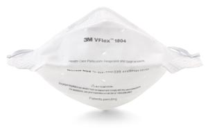 3M N95 Particulate Respirator & Surgical Mask Box of 50 1804 By 3M Health Care
