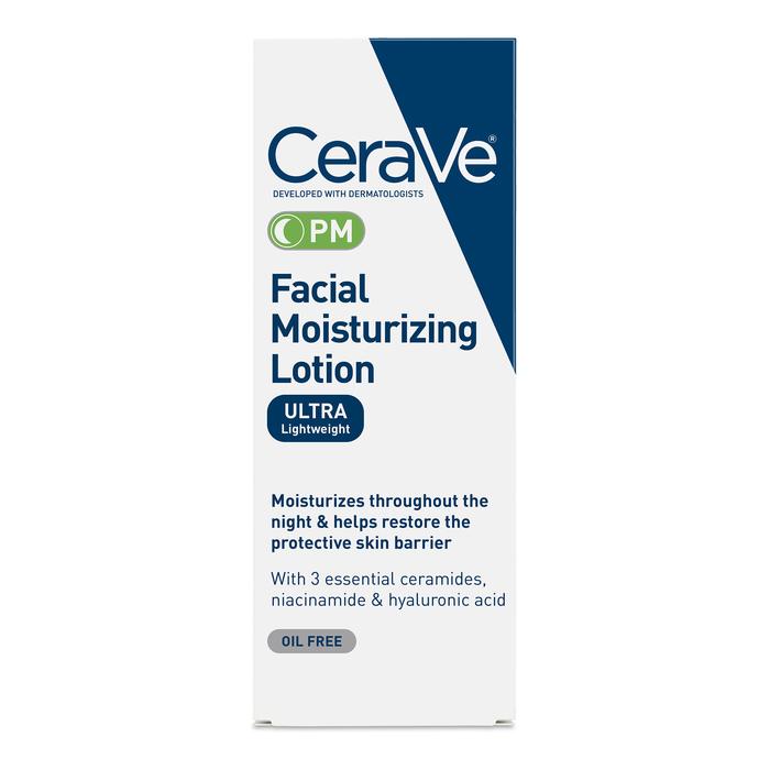 Cerave Facial Moisturizing Pm Lotion 3Oz By L'Oreal Case Ofv 12