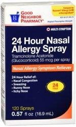 GNP Triamacet 55Mcg 24H Allergy 120 Sprays 16.9ML By Perrigo-GNP