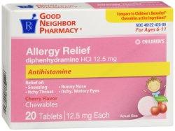 Gnp Diphenhydra Child Chew Cherry 20 CT By Lnk International, Inc./GNP