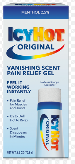 Case of 24-Icy Hot VANISHING GEL 2.5OZ by Chattem Drugs