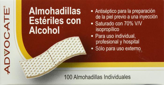 '.Advocate Sterile Alcohol Prep .'