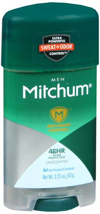 Mitchum Antiperspirant Deo Power Gel Unscent Deodorant 2.25 oz By Revlon USA