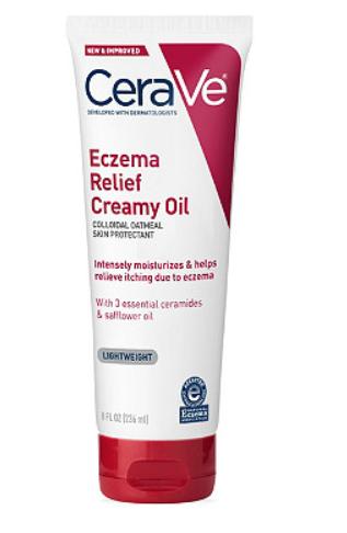 Cerave ECZEMA RELIEF CREAMY OIL 3.4OZ By Loreal