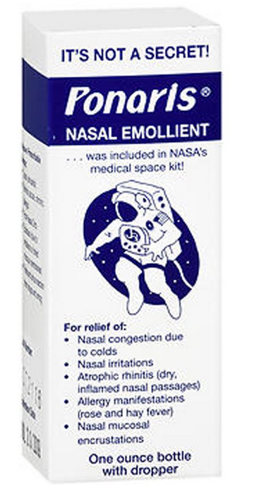 Ponaris Nasal Emollient 1 oz Case of EACH by Jamol Lab