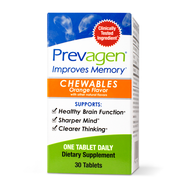 Case of 12-Prevagen Orange Chewable Tab 30 By Prevagen USA