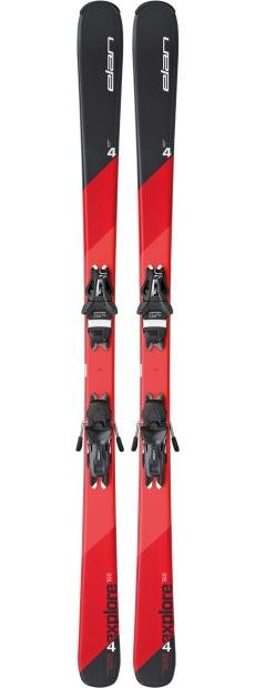 Image 0 of ELAN - EXPLORE 4, 144cm SKIS - W/EL 10 BINDING - 2017