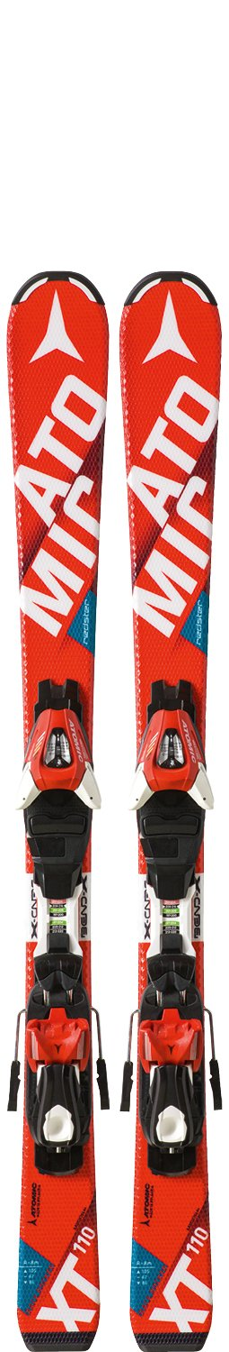 Image 0 of Atomic Redster Jr II Skis w/ XTE 45 Binding 2017