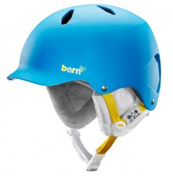 BERN - Bandita Helmet - EPS Satin Peacock w/White Liner, M/L