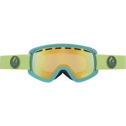 DRAGON - D2 Ski Goggle - LENS, GrassHeather/Smoked Gold + Yellow - 2015