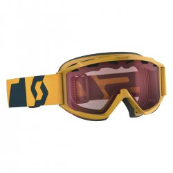 SCOTT - Jr Hookup Goggle, Citrus Yellow Coral Blue - Lens, Amplifier