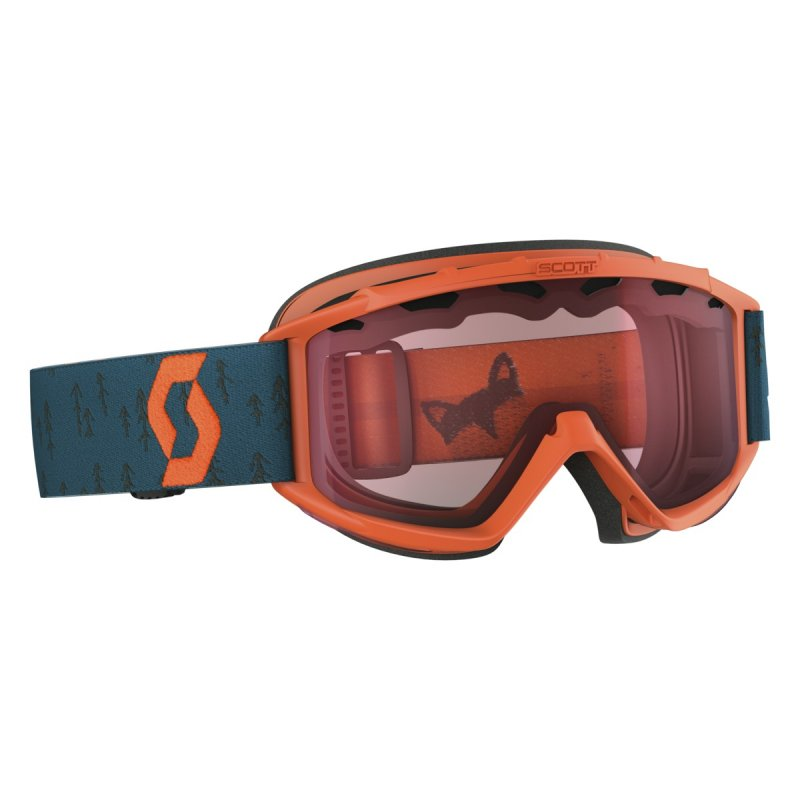 Image 0 of SCOTT - Jr Hookup Goggle, Crush Orange Coral Blue - Lens, Amplifier
