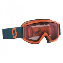 SCOTT - Jr Hookup Goggle, Crush Orange Coral Blue - Lens, Amplifier