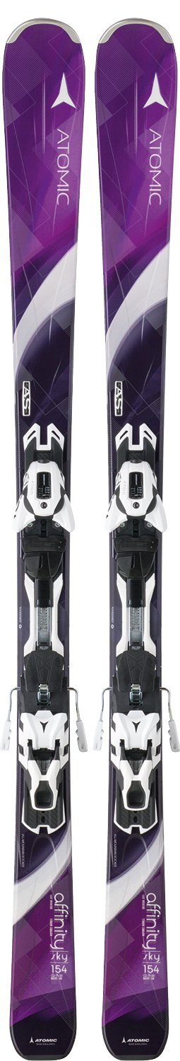 Image 0 of ATOMIC - AFFINITY SKY SKIS, 160cm ONLY + XTO 10 BINDING - WOMENS - 2016